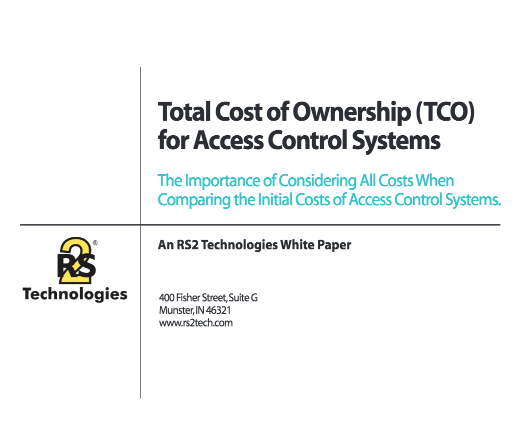 Total Cost of Ownership (TCO) for Access Control Systems