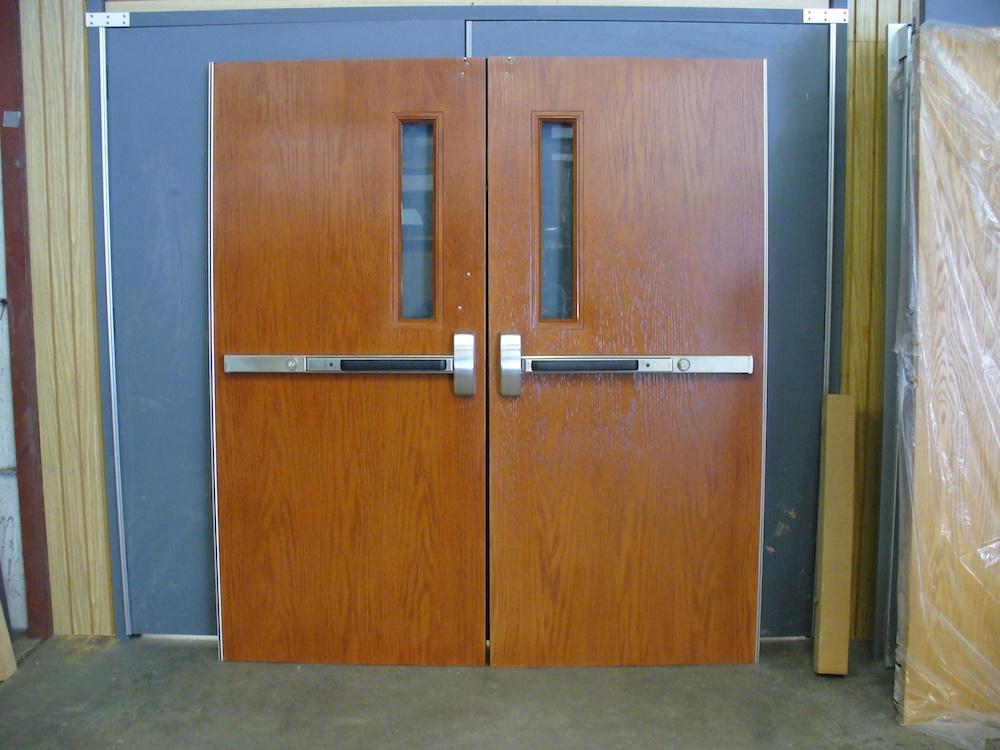 Flush Pull Hollow Metal Doors & Flush Pull Hollow Metal Doors \u2022 National Security \u0026 Door